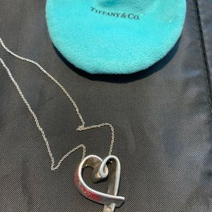 Tiffany & Co Paloma Picasso heart pendant